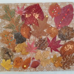 Katy leaf collage