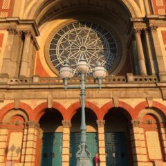 """"""" quite early one morning"""" ally pally lisa Chris"""