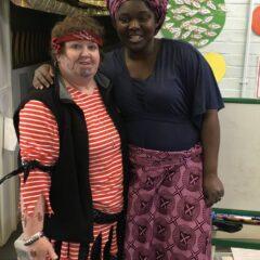 Cathy and Natasha - reception world book day
