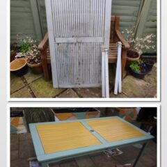 filipa's table - before and after